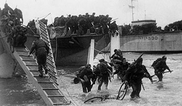 75 years ago today thousands of Allied soldiers were preparing for the long awaited invasion of Europe.