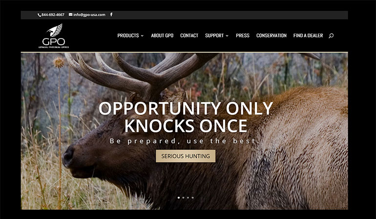 German Precision Optics USA Launches New Website