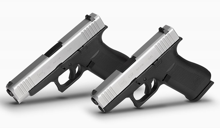 Glock has formally announced the addition of the model 48 and 43x.