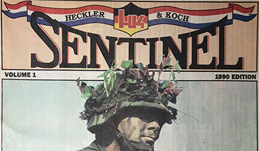 "The year 1990 was a ""black hole"" in the firearms industry and the HECKLER & KOCH SENTINEL reflects that. If you weren't in the industry, or not into guns, or not born back then I will give you a little taste of what we were going through."