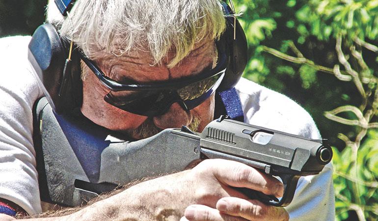 The H&K VP70 Machine Pistol