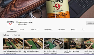 "Hoppe's announced that it has added another new video to its popular ""How to Clean"" Series."