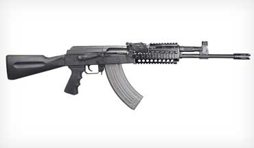 The new M10 Quadrail Rifle 7.62 x 39mm comes from the famous Cugir factory in Romania.
