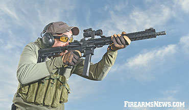 I.O. Inc.'s M215 9mm ML-15 Pistol-Caliber Carbine (PCC) for tactical and competition use.