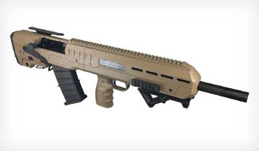 Inter Ordnance brings a new Bullpup-style 12 gauge shotgun to the market.