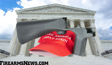 One anti-gun law that Trump did institute through an executive action is coming under fire by at least a few judges.