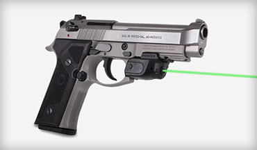 LaserMax introduces the Lightning Rail Mounted Laser with GripSense Activation.