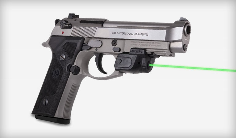 New from LaserMax: The Lightning with GripSense Activation