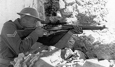 The Lee Enfield No. 4(T) was perhaps the best sniper rifle of World War II.