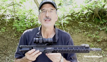 Patrick Sweeney reviews the Leupold Freedom RDS optic with bullet drop compensator!