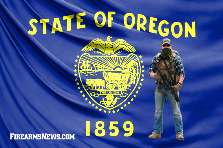 Armed Oregon Homeowners Protecting Their Property