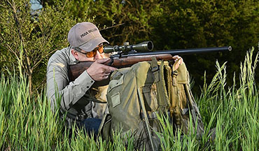While the M40-66 is not an exact clone of the original M40, it is a handsome custom rifle and a lot of fun. If the classic lines and wood stock of the original M40 sniper rifle appeal to you, you may wish to consider an M40-66 rifle.