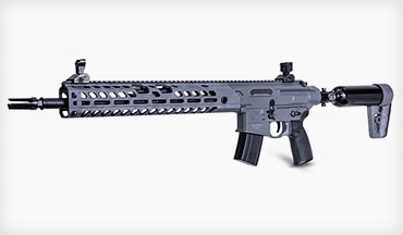 SIG SAUER has introduced the new MCX Virtus pre-charged pneumatic Air Rifle featuring the SIG proprietary 30-round rapid pellet magazine.