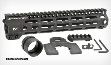 Midwest Industries announced the release of its fourth generation M-LOK free float AR-15 handguard: the G4M One Piece Free Float Handguard