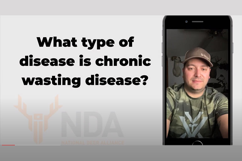 NDA Debuts Online CWD Resource Center and New FAQ Video
