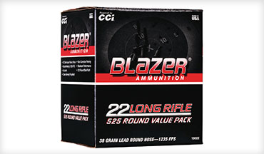 Blazer Ammunition has expanded its wide selection of range ammunition with a bulk pack that's perfect for high-volume shooting or training.