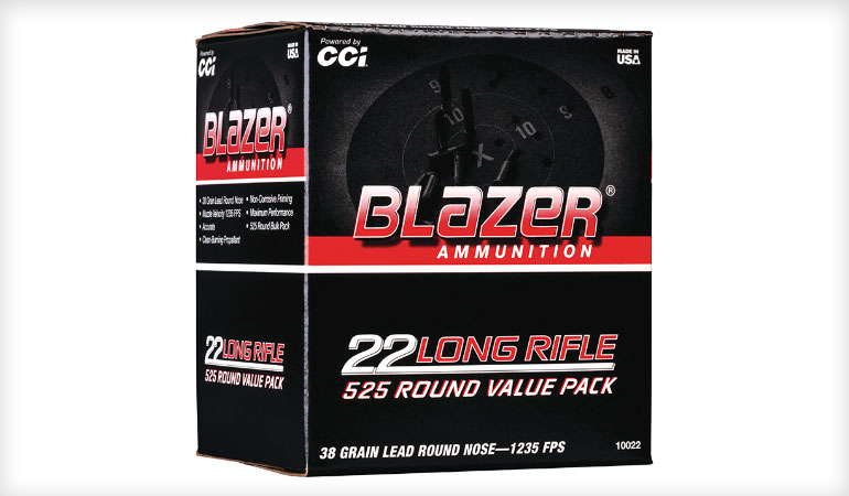 New Blazer 22 LR Bulk Packs Are Perfect for Practice