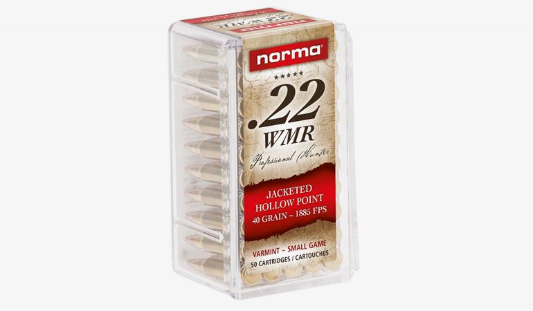 Norma Unveils New Jacketed Hollow Point in .22 Mag