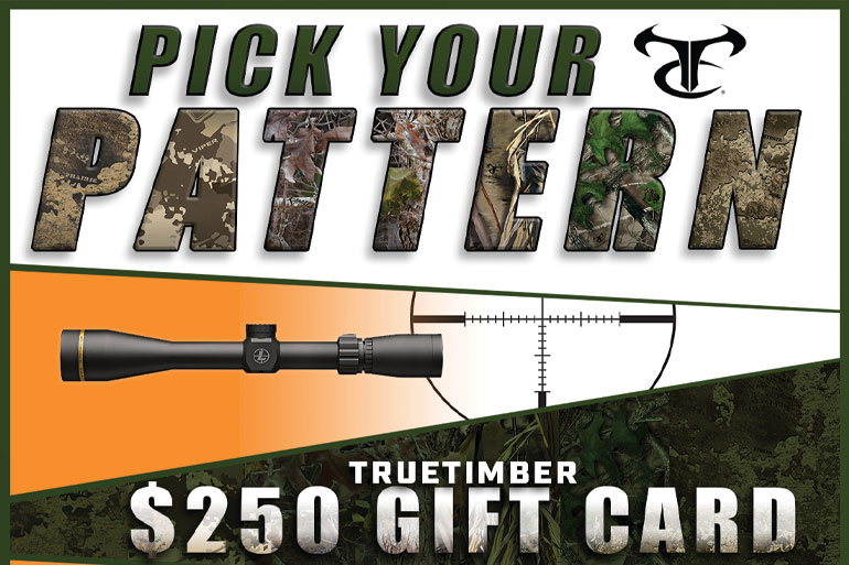 TrueTimber Teams Up with Thompson/Center and Leupold for Giveaway