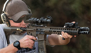 Primary Arms has just released the new SLx 1-8x24mm FFP Rifle Scope with their ACSS Raptor 5.56/5.45/.308 Reticle.
