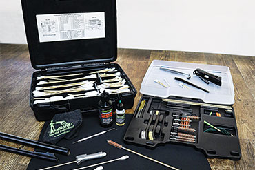 RamRodz announced the #70035 Professional Gun Cleaning Master Kit, which includes over 550 precision tools, brushes, accessories, and new biodegradable lubricating oil and cleaning solution.