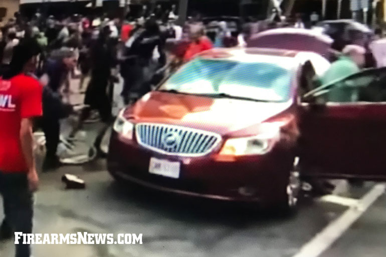 "In Columbus, Ohio, Eldon Hawkins, an elderly man with cerebral palsy, was pulled from his vehicle and beaten by ""peaceful protesters""."