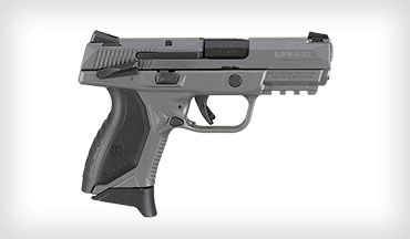 The Ruger American Pistol Compact in .45 Auto is now available with a gray Cerakote finish on the grip frame and slide.