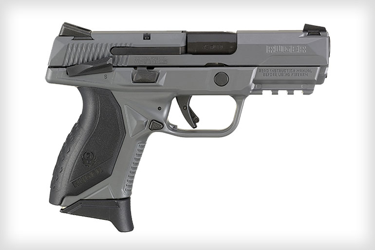 Ruger American Pistol Compact Now Available with Gray Cerakote Finish