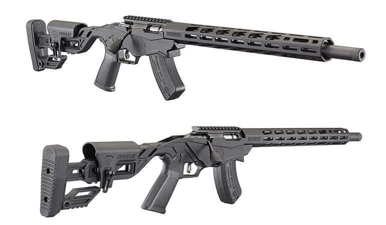 The Ruger Magnum Precision Rimfire is offered in .17 HMR and .22 Magnum.