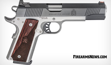 Springfield Armory introduced the Ronin 1911 in 10mm, a powerful and reliable pistol built for a lifetime of service at an MSRP of just $849.