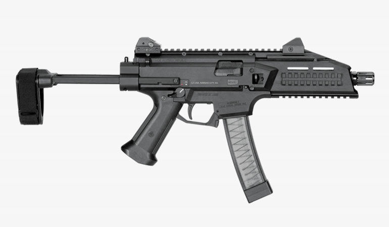 The SB Tactical CZPDW Brace is the ultimate upgrade for the CZ Scorpion EVO S1 Pistol.