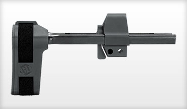 The HKPDW Pistol Stabilizing Brace is 3-position adjustable and compatible with the MP5 and MP5K Reverse Stretch clones.