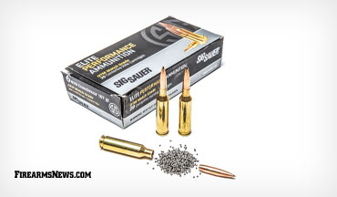 SIG Sauer's OTM match grade load in 6mm Creedmoor is a long-range shooting powerhouse.