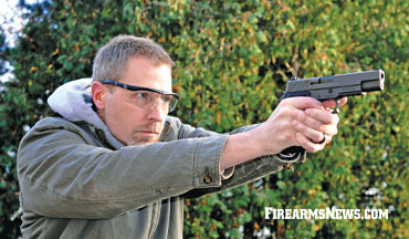 The SIG Sauer P220 10mm Legion pistol is a handful of awesome.