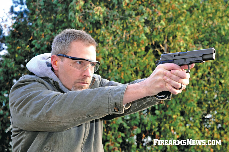 SIG Sauer P220 10mm Legion Pistol Review
