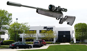 Firearms News visits the SIG Sauer plant and takes a look at the SIG Sauer ASP20 Air Rifle.