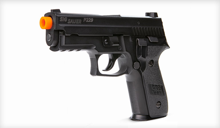SIG Sauer ProForce P229 Airsoft Pistol Now Shipping