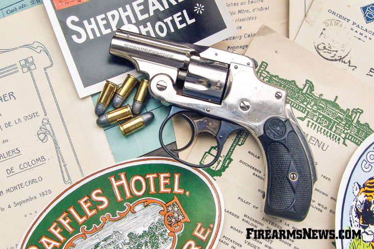 S&W Snub-Nose Bicycle Revolvers — Elegant and Vintage