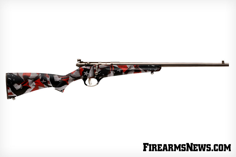 Savage Arms Red, White and Blue Rascal Rifle