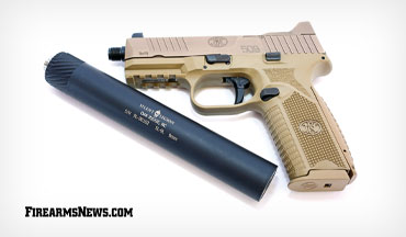 The Silent Legion 9mm suppressor is lightweight and incredibly easy to install.