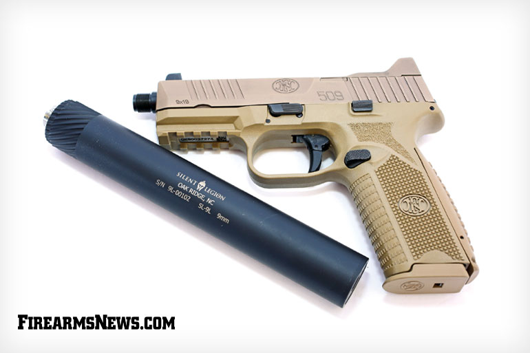 Silent Legion 9mm Suppressor
