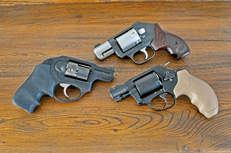 3 Snub-Nose Revolvers Tested and Compared