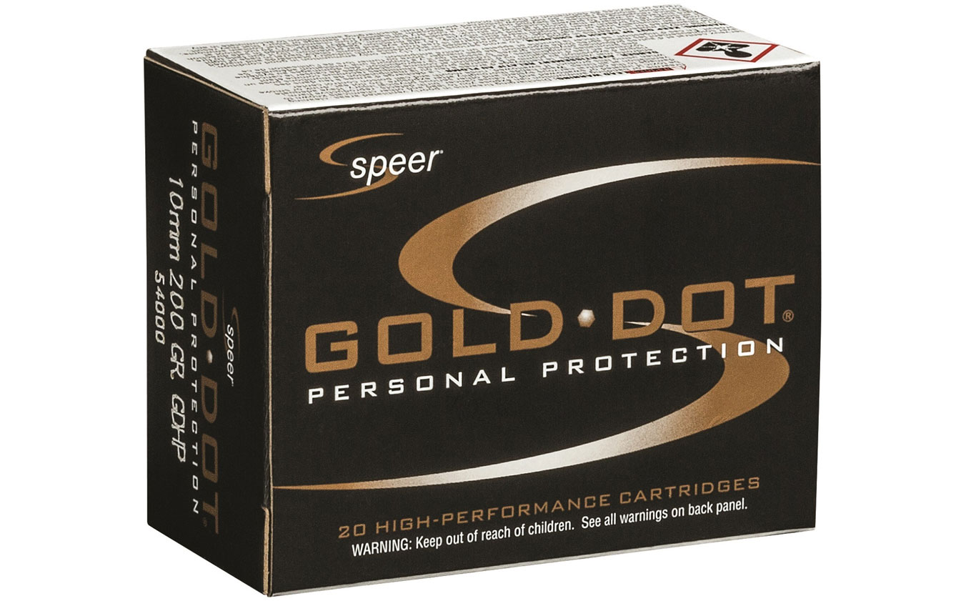Speer Ammunition Announces New Gold Dot 10mm Auto Load