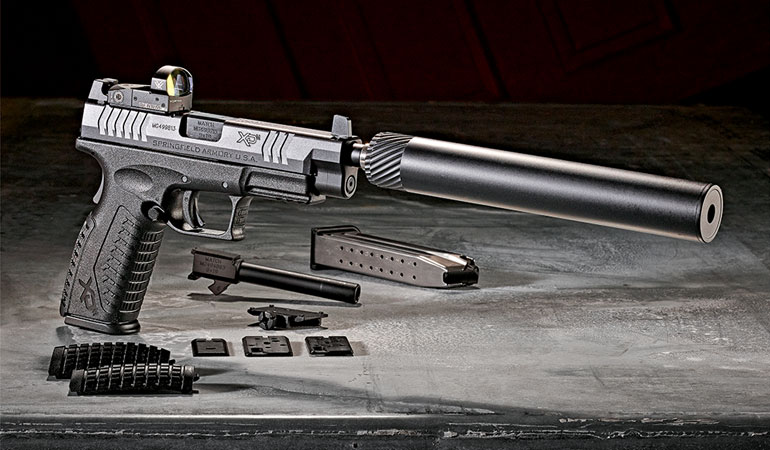The new Springfield Armory XD(M) OPS pistol adds both a red dot and threaded barrel to this popular series!