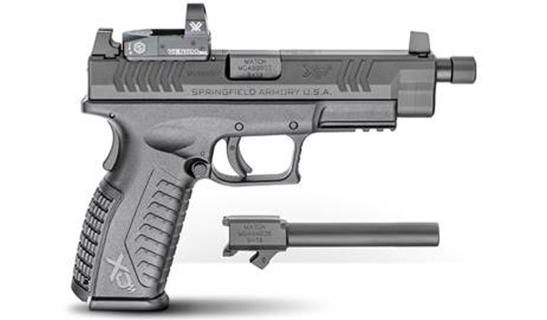 Springfield Armory announced the release of the XD(M) Optical Sight Pistol (OSP) with a threaded barrel and an additional non-threaded barrel included.