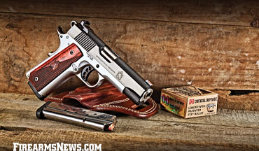 If you're looking for a classicly-styled 1911 with solid fit and performance, from one of the category leaders, you should check out the Springfield Armory Ronin Operator.