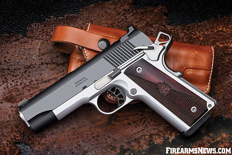 Springfield Armory's new Ronin Operator 4.25-inch 1911 is a handsome, compact and lightweight pistol perfect for concealed carry and personal protection.
