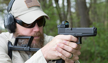 Adding a legal shoulder stock to your Glock pistol.