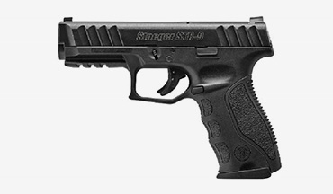 Stoeger introduces the all-new STR-9 striker-fired, semi-automatic pistol.