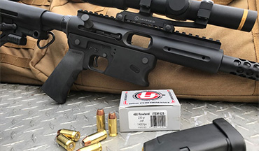 TNW Firearms introduces 44 Remington Magnum type ballistics in a semi automatic pistol caliber carbine.